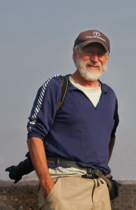 Robert in Tsavo, Kenya