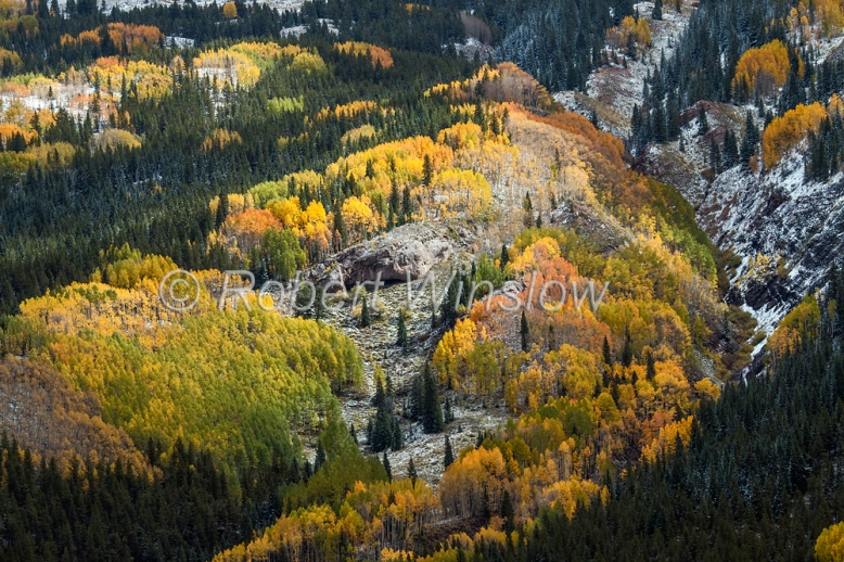 San Juan Mountains Fall Colors 2315W1WM
