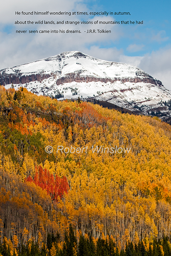 San Juan Mountains Fall Colors 2361QW1WM