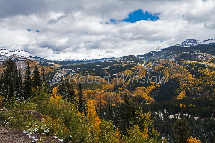 San Juan Mountains Fall Colors 6748W1WM