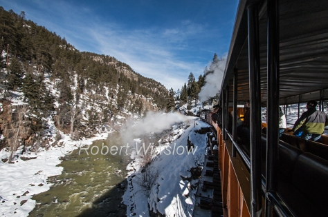 Durango & Silverton Narrow Gauge Railroad Winter Train 7722W8WM