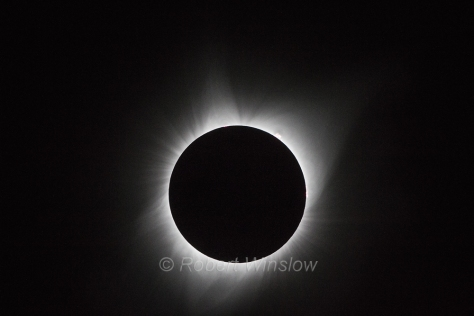 Total Solar Eclipse, Auguat 21, 2017, Driggs, Idaho, USA, North America