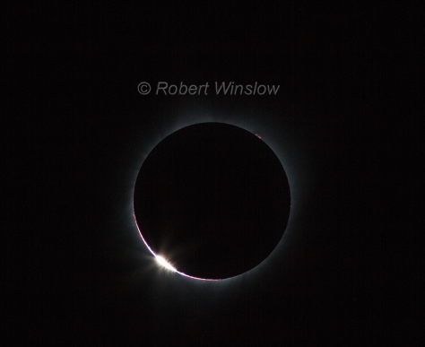 Total Solar Eclipse Diamond Ring 9063W1WM