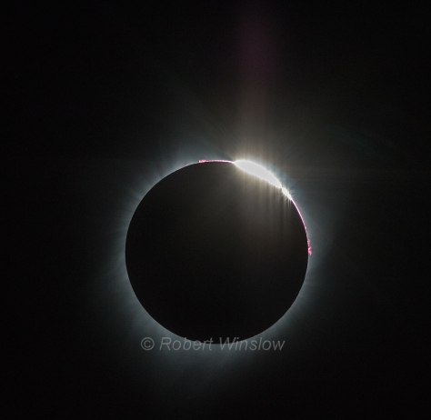 Total Solar Eclipse Diamond Ring 9921W1WM